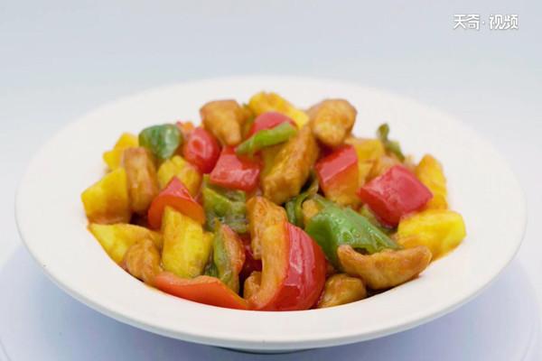 菠萝咕咾肉做法步骤:10