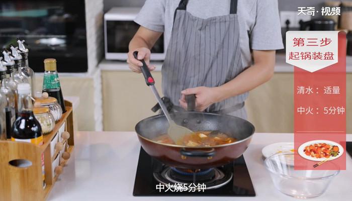 豆瓣豆腐烧鲫鱼做法步骤:8