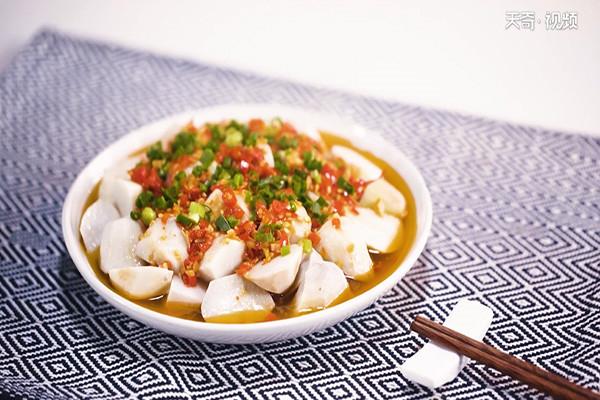 剁椒香芋做法步骤:5