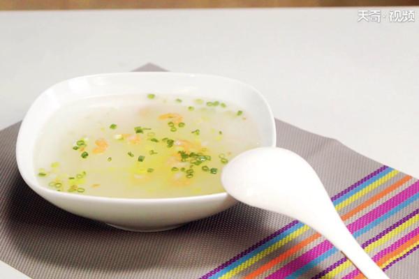 海米冬瓜汤做法步骤:7