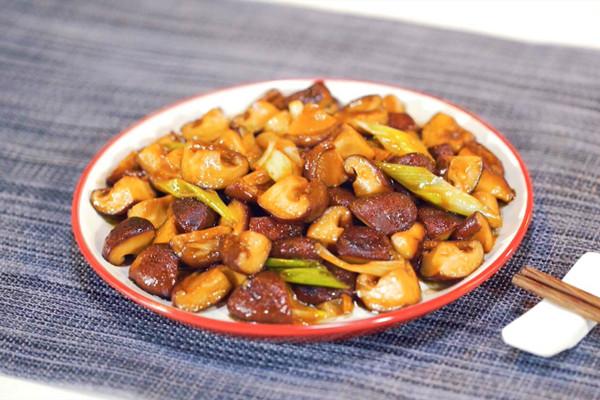葱油香菇做法步骤:6