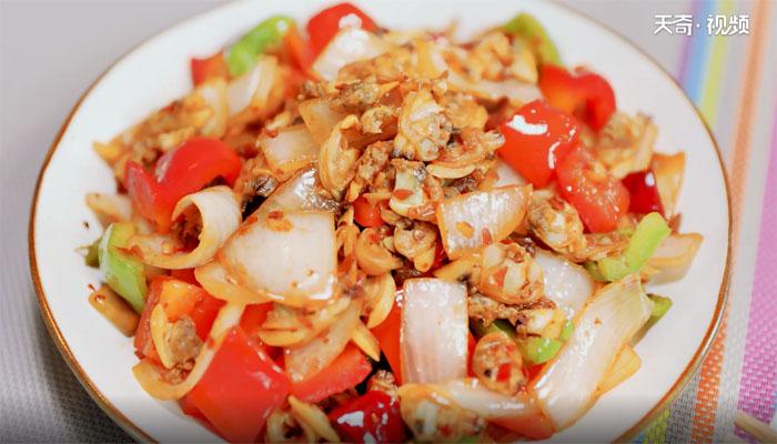 小炒蛤蜊肉做法步骤:10