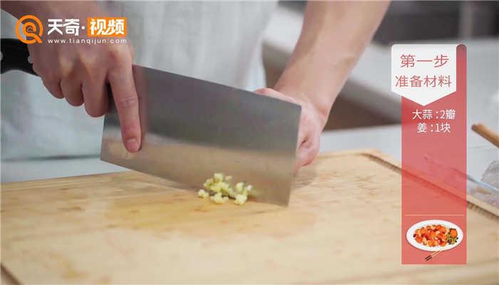 青瓜炒虾仁做法步骤:3