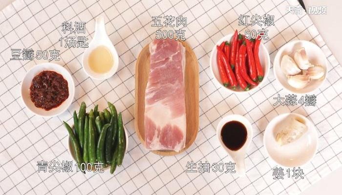 农家小炒肉做法步骤:1
