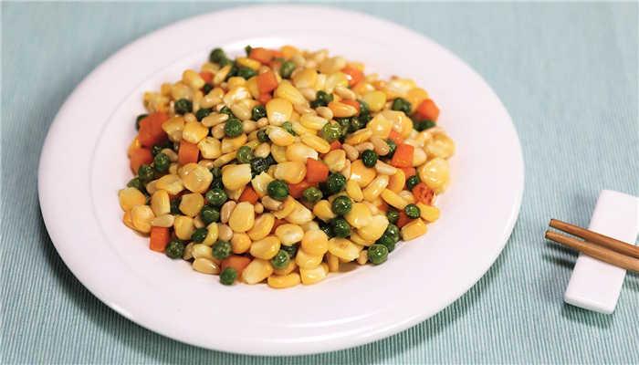 松子玉米做法步骤:7