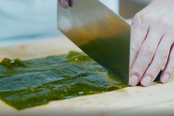 海带豆腐汤做法步骤:2