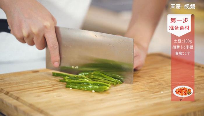 牛肉炒三丝做法步骤:4