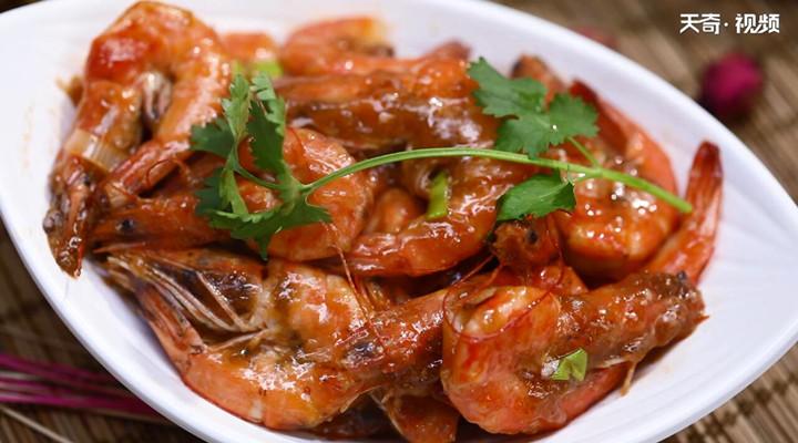 红烧大虾怎么做好吃做法步骤:9