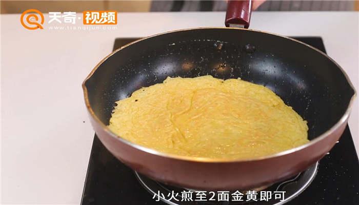土豆鸡蛋饼做法步骤:5