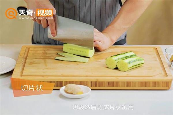 黄瓜皮蛋汤做法步骤:2