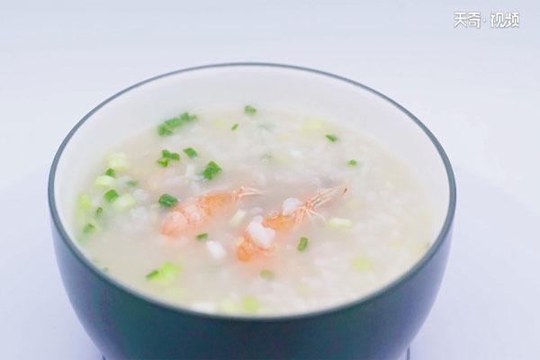 鲜虾粥做法步骤:8