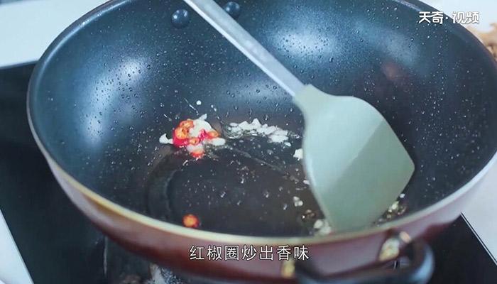 苦瓜炒肉做法步骤:9