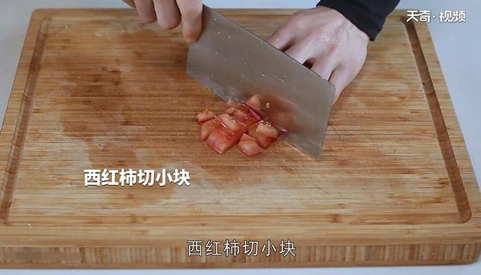 火腿鸡蛋炒面做法步骤:3