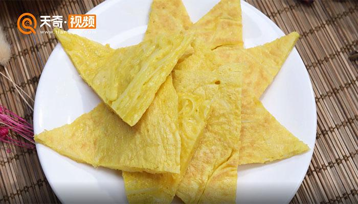 土豆鸡蛋饼做法步骤:6