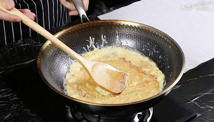 苦瓜煎蛋做法步骤:7