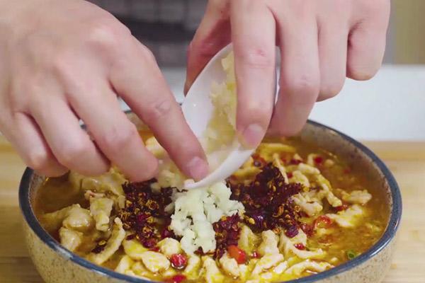 水煮肉片做法步骤:11