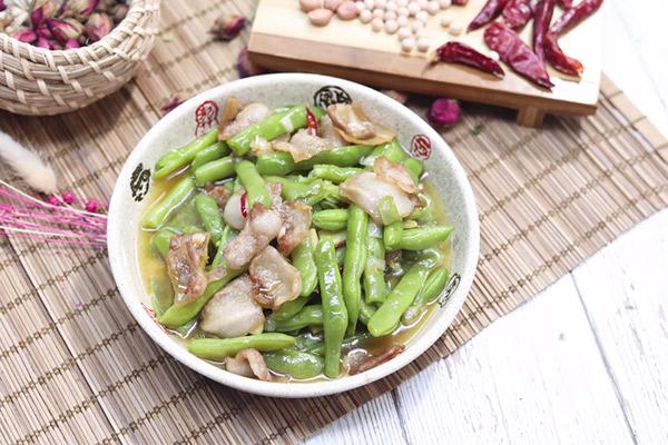 豆角炒肉做法步骤:10