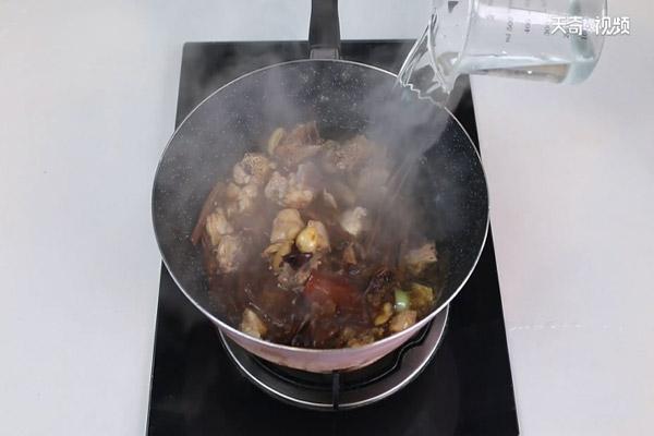 茶树菇炖鸡做法步骤:8