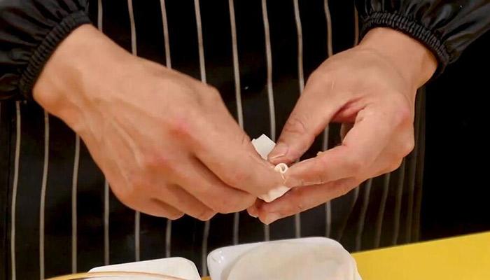 胡萝卜煎饺教程做法步骤:5