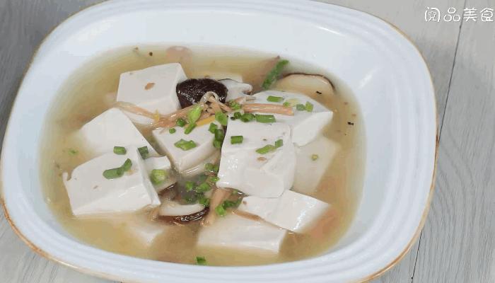 黄花菜香菇豆腐汤做法步骤:9