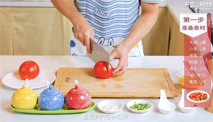 番茄炒蛋做法步骤:4