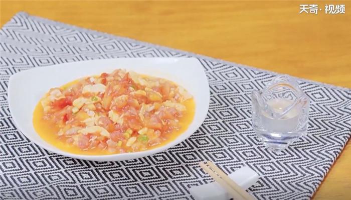 番茄炒蛋做法步骤:11