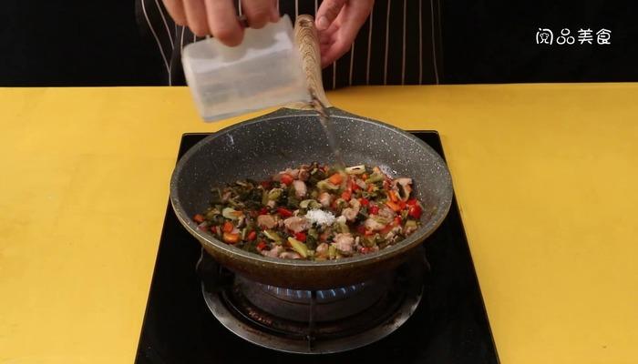 酸菜兔肉做法步骤:11