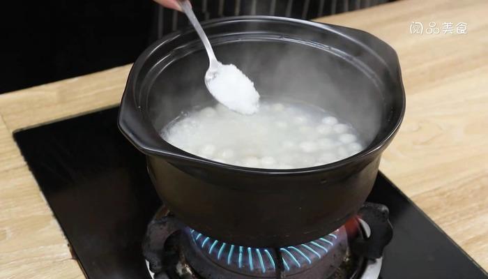 米酒汤圆做法步骤:4