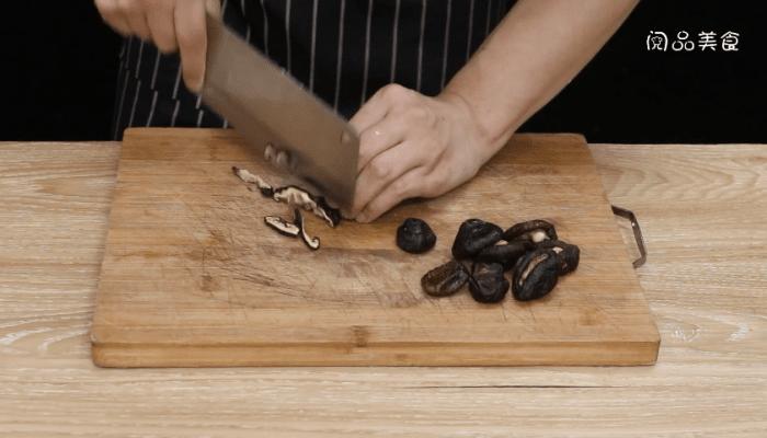香菇韭苔做法步骤:5