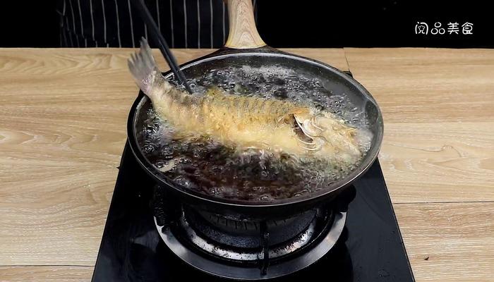 糖醋鱼做法步骤:7
