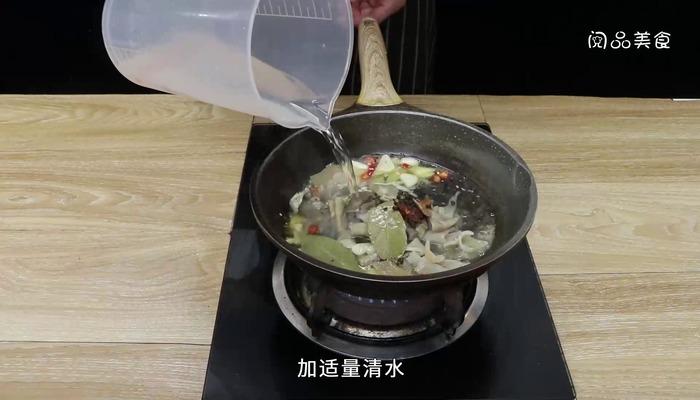 苦瓜牛杂煲做法步骤:16