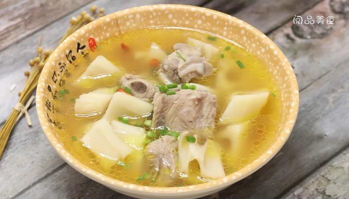 排骨莲藕汤做法步骤:9