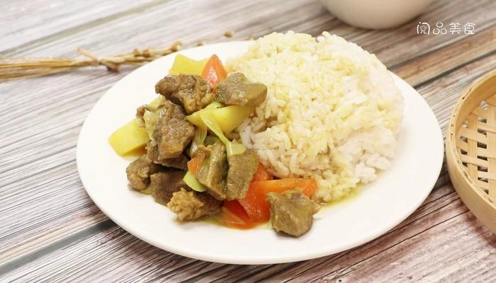 咖喱牛肉饭做法步骤:13