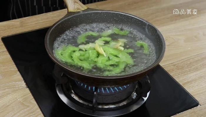 苦瓜汤做法步骤:7