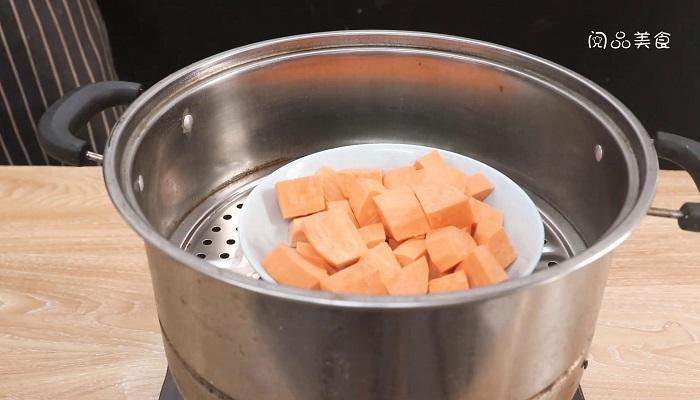 地瓜饼做法步骤:3