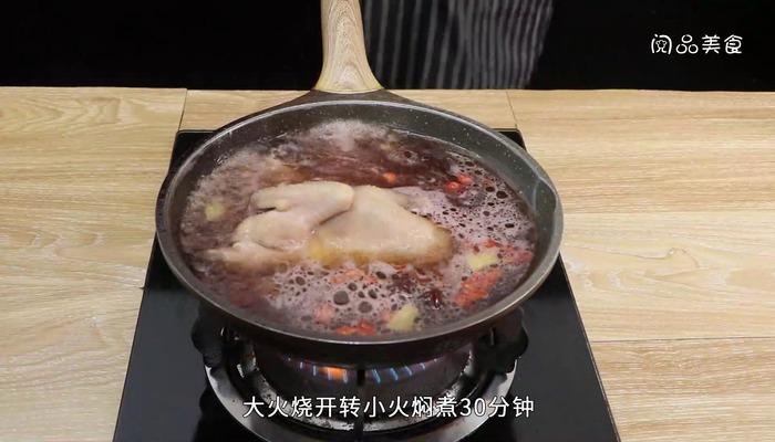 玫瑰油鸡做法步骤:7