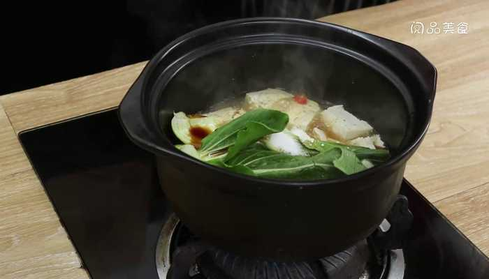 砂锅豆腐做法步骤:9