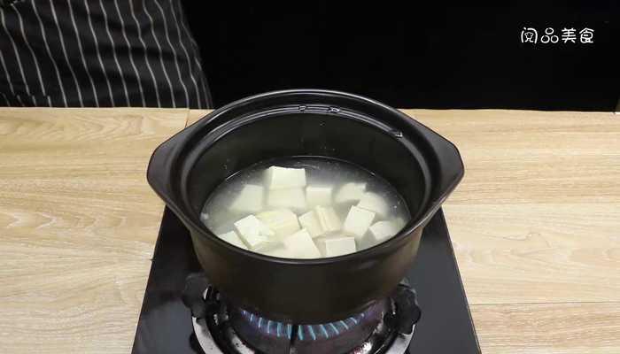 砂锅豆腐做法步骤:7