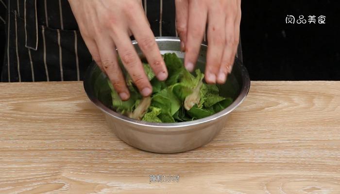 东北腌酸菜做法步骤:3