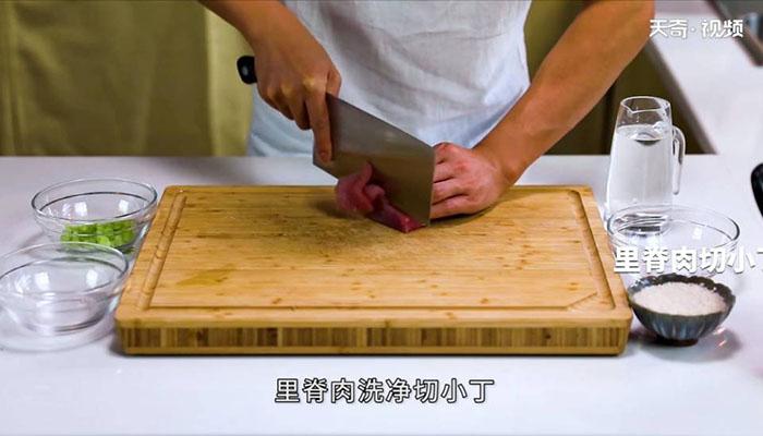 芹菜肉末粥做法步骤:3