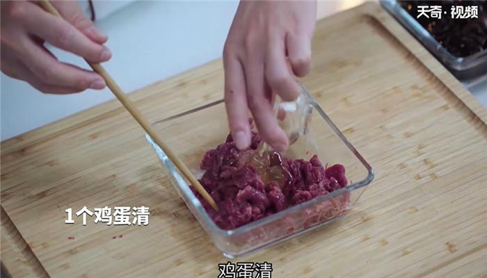 木耳炒牛肉做法步骤:5