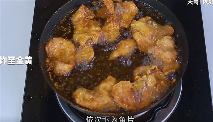 香酥草鱼做法步骤:10