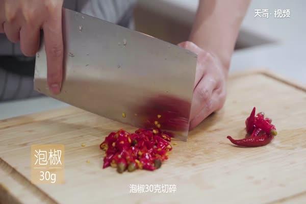 水煮鱼片做法步骤:1