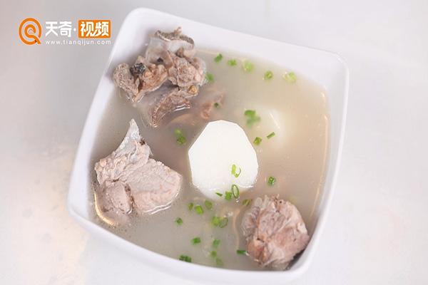 淡菜山药排骨汤做法步骤:9
