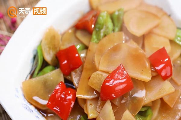 红烧土豆片做法步骤:5