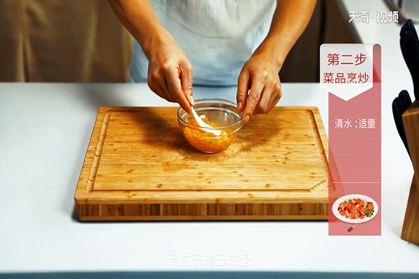 金沙午餐肉做法步骤:5