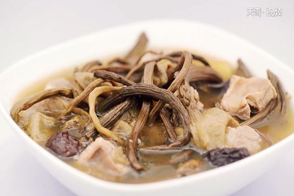 茶树菇排骨汤做法步骤:7