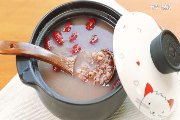 红豆薏米粥做法步骤:5